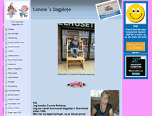 Tablet Preview of connies-dagpleje.dk